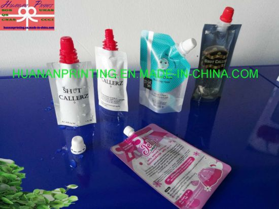 Stand up Printing Plastic Pouch for Ice Cream Packing