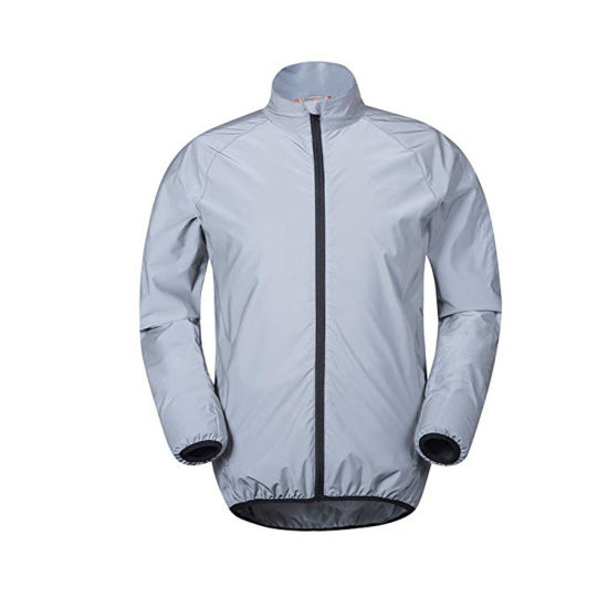 Hi Vis High Quality Custom Plain Dyed Casual Ultra Reflective Jacket