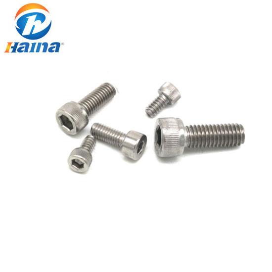 DIN912 Stainless Steel 316L Hex Socket Cup Head Machine Scrcew