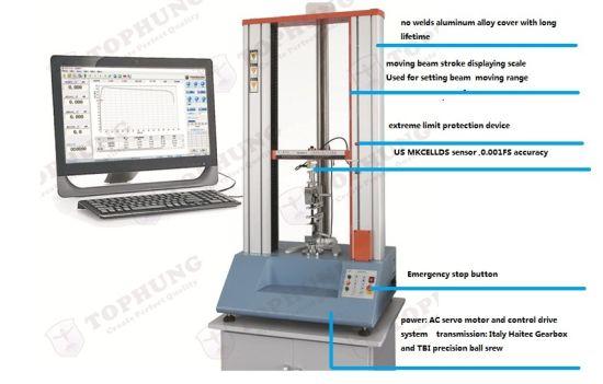 Mechanical Engineering Materials Tensile Strength Testing Lab Equipment