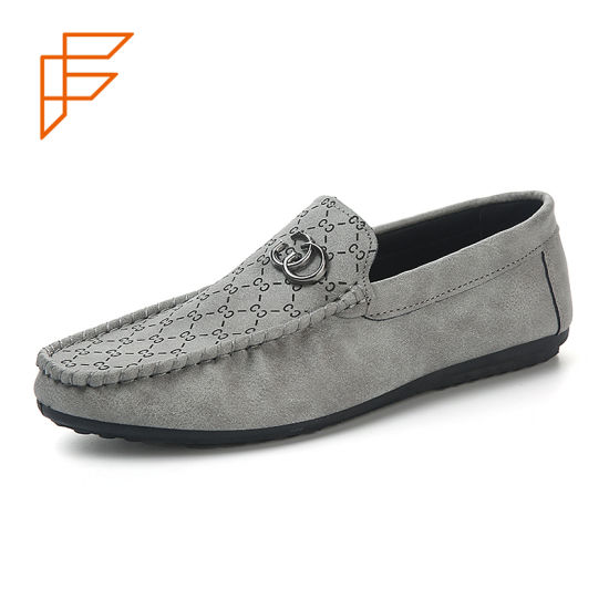Topsion Popular Boots Casual Shoes Slip on Men Loafer Shoes