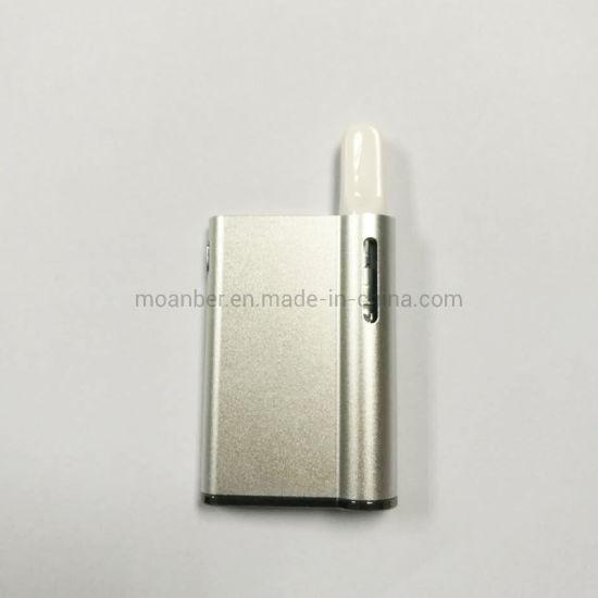 OEM Packaging Variable Voltage Micro USB 550mAh Cbd Vape Mini Cbd Box Mod