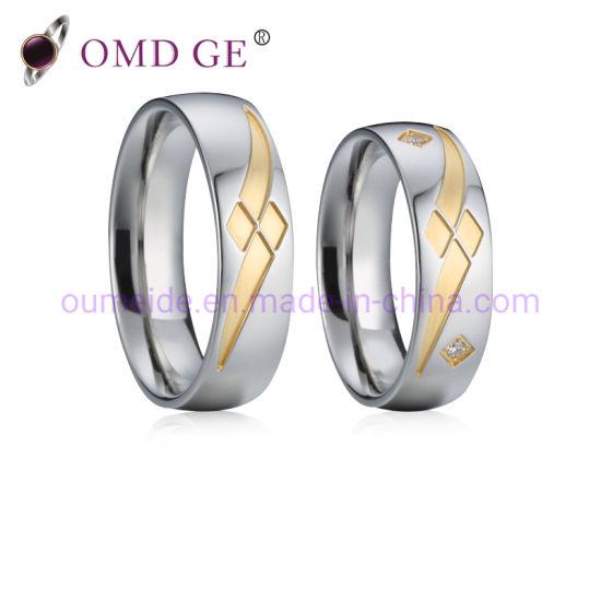 Fashion 925 Sterling Silver Jewelry Diamond Wedding Rings