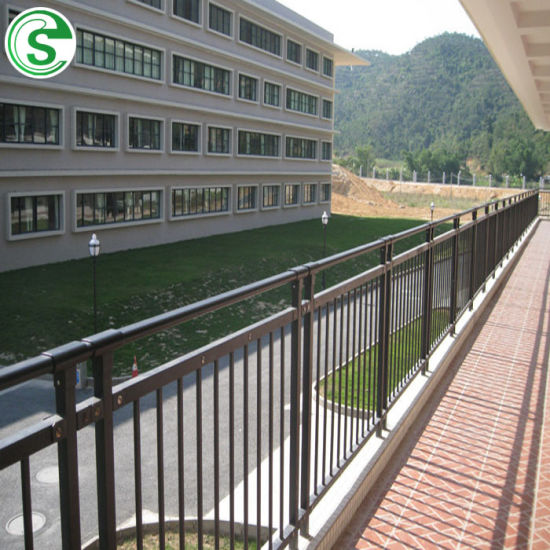 China Steel Tubular Outdoor Balcony Stair Railing ...