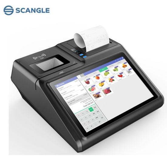 Android Touch Screen POS Terminal with Seiko 80mm Receipt Printer