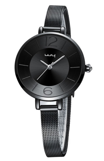 Factory Wholesale Promotion Steel Water Resistant Jewelry Set Watch (WY-135)