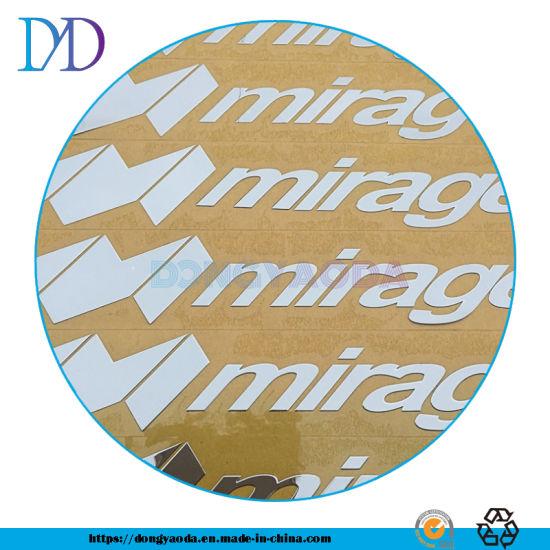 Printing Customized Plastic Adhesive Metal Logo Labels