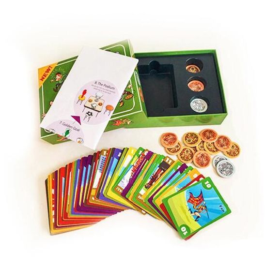 China Custom Game Cards Board Game Set for Children and Adults Ludo