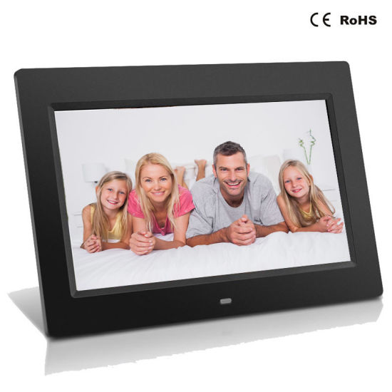 LCD 10.1 Inch Digital Photo Frame with Motion Sensor Video Advertising Display