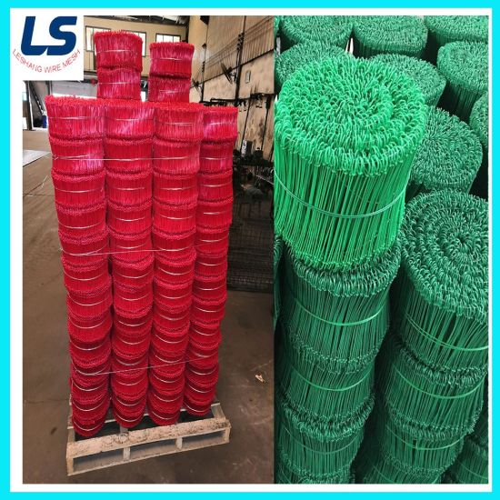 PVC-Coated Double Loop Tie Wire in Different Color