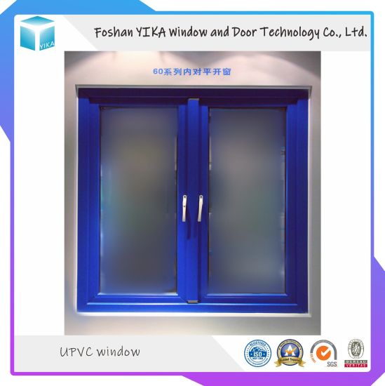 Multi Color Customized Design UPVC/ UPVC/ Vinyl Window Made by Foshan Factory