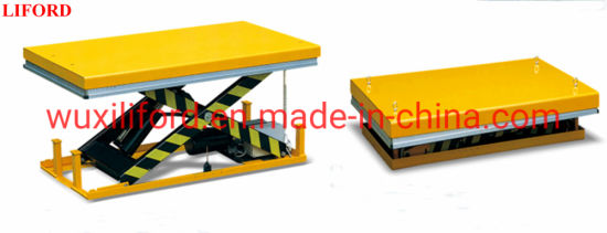 Stationary Scissor Lift AC Powered 1000kg-4000kg Electric Lift Table