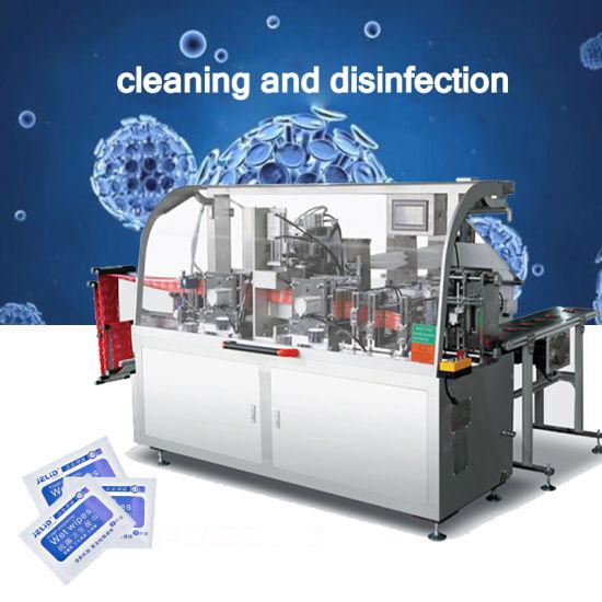 Automatic Single Disinfecting Alcohol Swab Making Machine