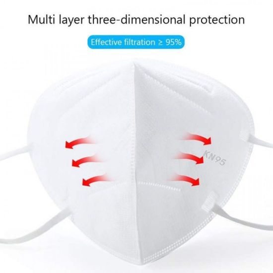China Dust Mask Disposable Respirator for Virus