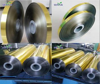 Golden Single Side Laminates Aluminum Mylar