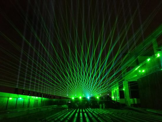 40K 4W Green Laser Light Projector DJ Show Stage Laser Equipment