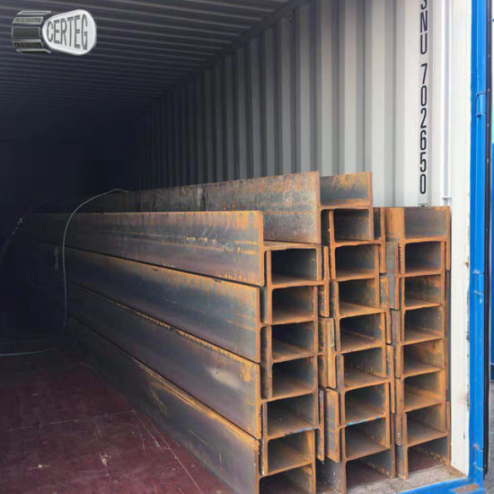 Q345B Hot rolled H beam structure shape steel 12m h channel