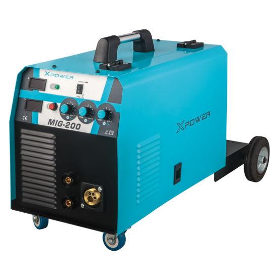 Portable DC 110V/220V MIG Welding Machine 200A
