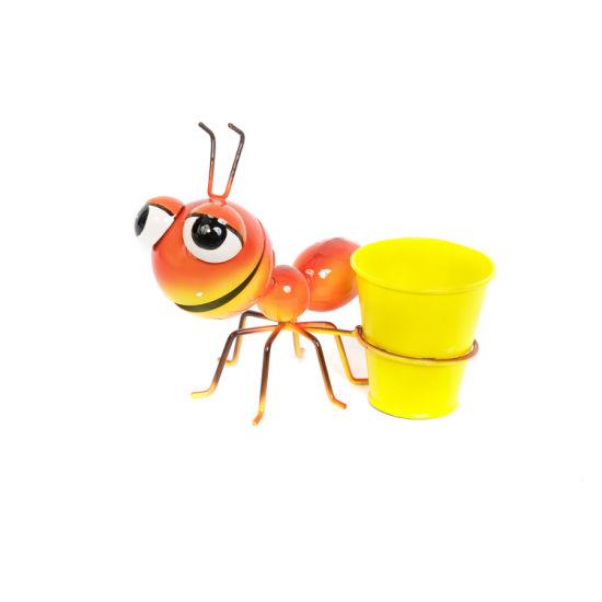 Cute Cartoon Bug Shaped Flower Pot for Home Garden Office Desktop Valentine's Day Decoration