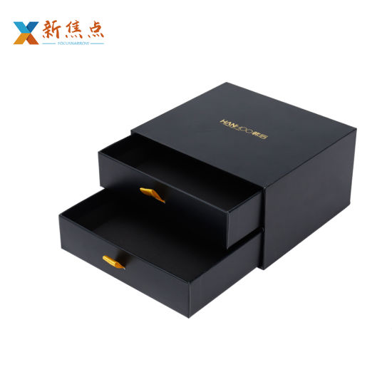 Wholesale Carboard High-End Printing Drawer Gift Packaging Box