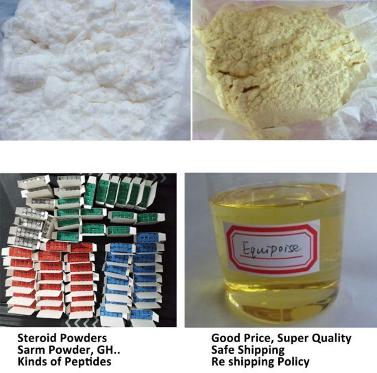 Paypal Bitcoin Accepted Steroids Hormone Peptides Sarms Powder for Human Growth