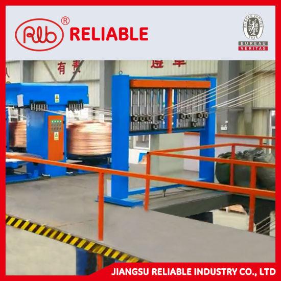 China Oxygen Free Copper Rods Wire Upward Continuous Casting Machine China Oxygen Free Copper Rod