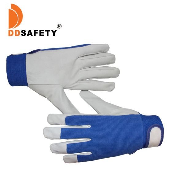 Pig Grain Leather with A Grade Safety Gloves