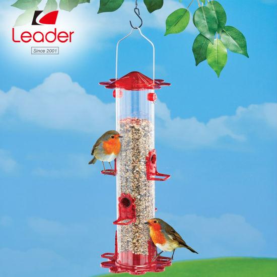 New Design Wild Bird Feeder for Outside Weatherproof Country House, Metal Birdfeeder