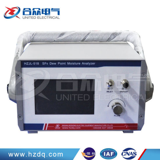 China Portable Measuring Instrument Electric Sf6 Gas Moisture Meter