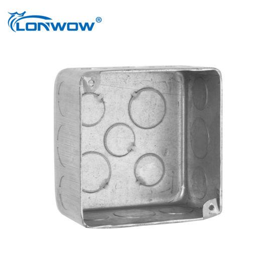 Waterproof Electrical Steel Junction Box with UL Certificate