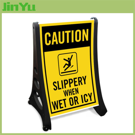 60*90cm Free Standing Sidewalk Sign Stand pictures & photos