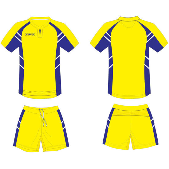 Personalised Design Sublimated Football Soccer Uniform Jersey for Club