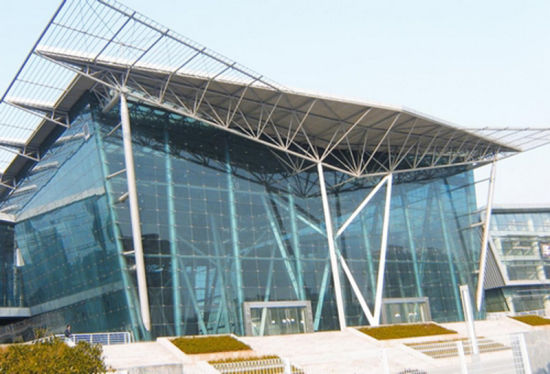 Steel Structure Show Room (SS-566)