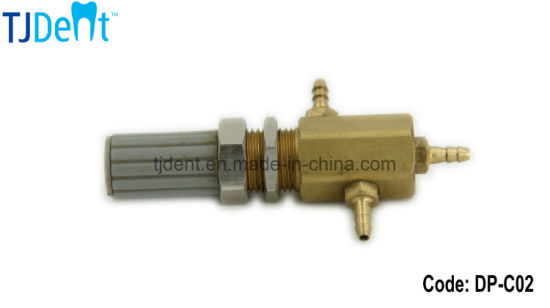 China Dental Unit Accessory Spare Part Copper Water Convert