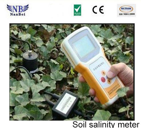 Portable Digital LCD Display Speedy Soil Salinity Meter