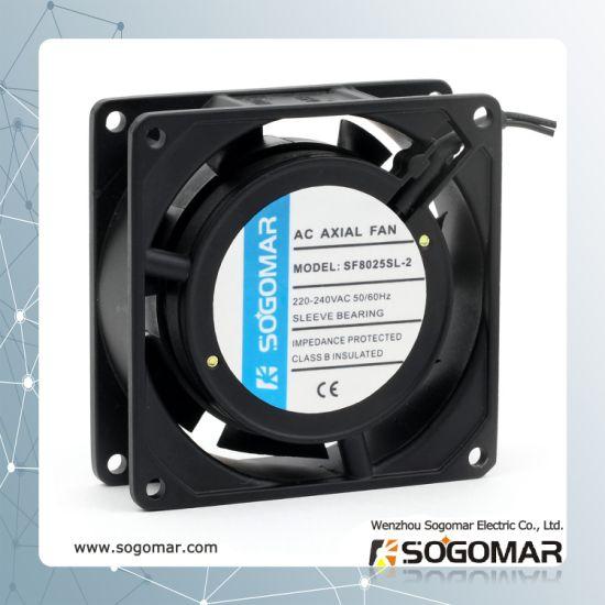 Low Noise Axial Fan 80X80X25mm 220-240V AC for Welding Machine