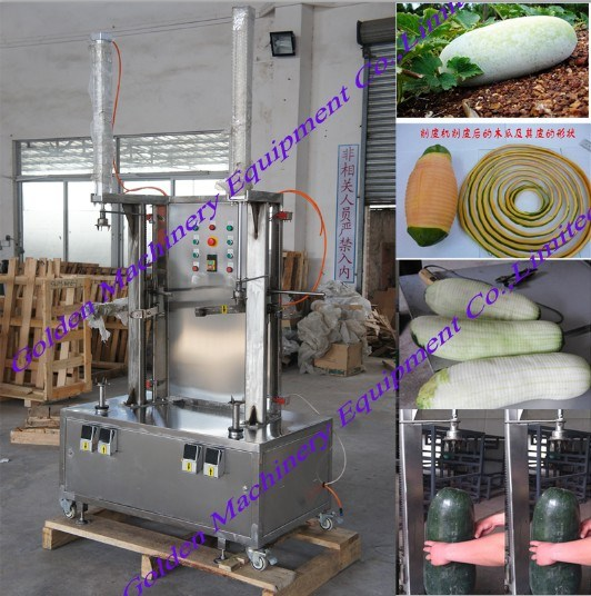 Fruits and Vegetables Pumpkin Papaya Peeling Processing Machine pictures & photos