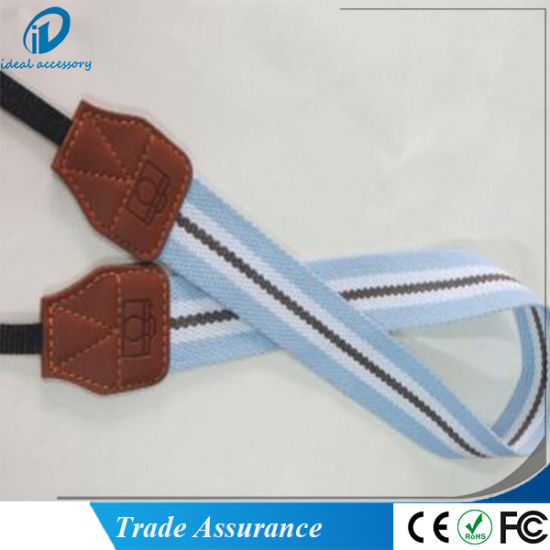 Stock Strip Pattern Woven Braid Polaroid Camera Hang Rope Strap pictures & photos