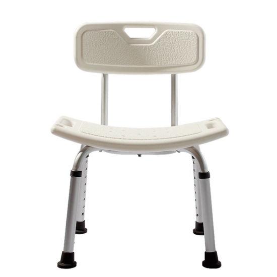 Safe Aluminum Bathroom Seat Shower Chair Designed for The Elderly