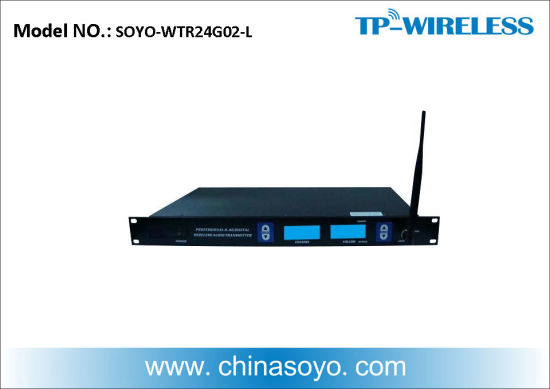 Professional Long Distance Wireless Audio Transmitter for Project (Support XLR and RCA)