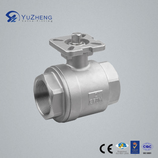 Stainless Steel 2PC Ball Valve with ISO5211 Pad pictures & photos