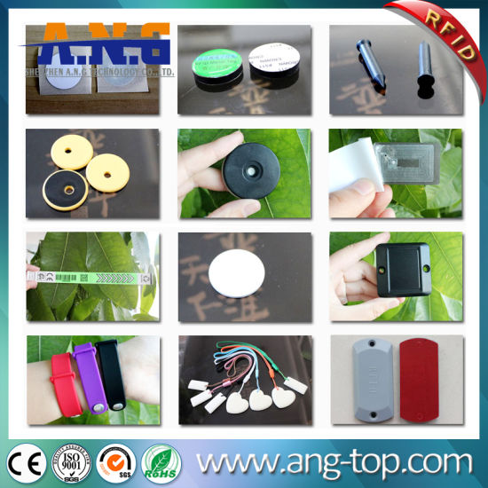 Small NFC RFID Nail Sticker with LED Flash Light