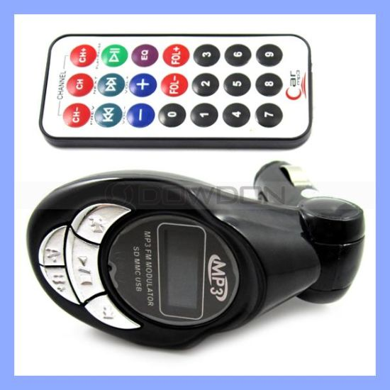 Car MP3 FM Transmitter USB SD MMC Slot MP3 Player