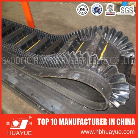 Long Using Life Corrugated Sidewall Conveyor Belt pictures & photos