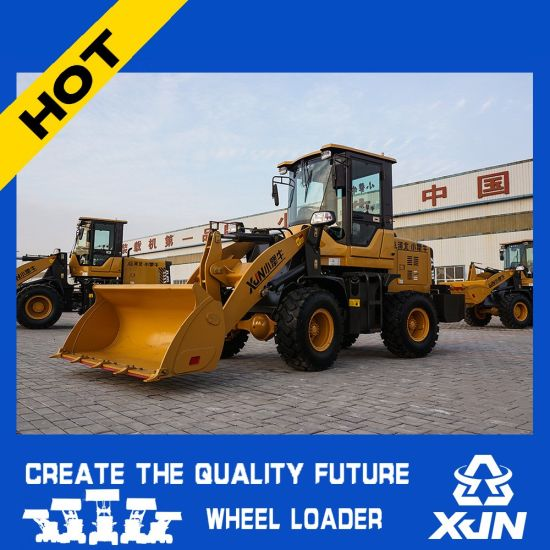 Mini Loader Small Wheel Loader with Ce and Rops Certification pictures & photos