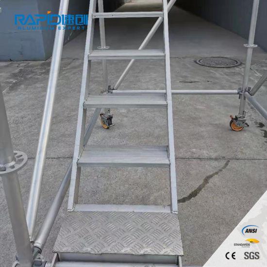 Aluminum Ringlock Wholesale Used Metal Steel Scaffolding Stair