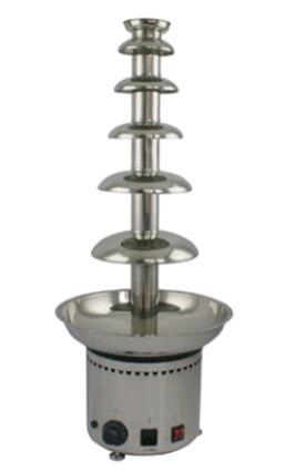 6 Six Tiers Stainless Steel Chocolate Double Fountains pictures & photos