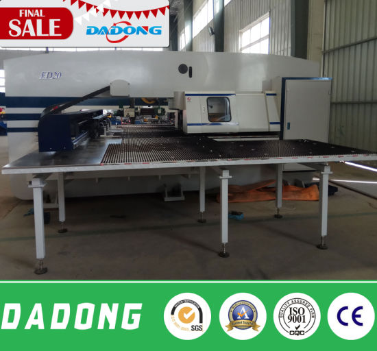 32 Working Station CNC Servo Turret Punch Press/CNC Punching Machine pictures & photos