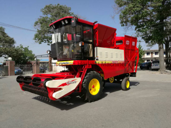 Peanut Combine Reaper Machine with Famous Engine pictures & photos