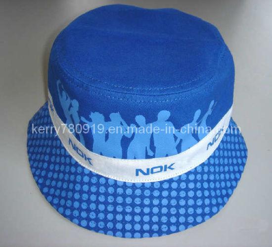 Promotion Cotton Sports Fish Bucket Sun Hat